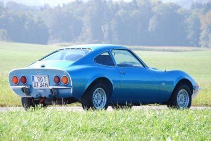 Pins OPEL GT AUTO Pin blau