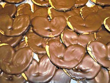 Vuelve A Madrid La Feria De Palmeras De Chocolate Palmeras De Chocolate Chocolate Feria