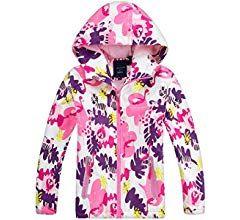 Welity Girls Lightweight Hoodie Jacket