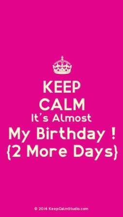 Birthday Countdown Quotes : birthday, countdown, quotes, Almost, Birthday, Happy, Ideas, Quotes, Birthday,