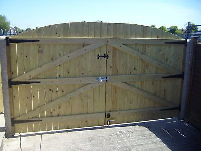 Wooden Driveway Gates Treated 6ft High X 8ft Wide Wood Gates Driveway Wooden Gates Driveway Wooden Gate Designs