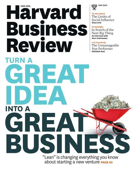 Harvard Business Review Back Issue May 2013 (Digital)