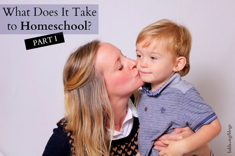 What Does It Take To Homeschool? Part I | HSLDA