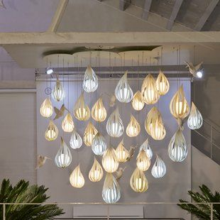 Eangee Home Design Jellyfish Hanging 1 Light Novelty Pendant Wayfair Light Lzf Pendant Lighting