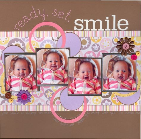 Don't usually pin scrapbook layouts, but this is soo cute! by elvira Baby Boy Scrapbook, Scrapbook Bebe, Bridal Shower Scrapbook, Paper Bag Scrapbook, Baby Scrapbook Pages, Birthday Scrapbook, Scrapbook Designs, Scrapbook Page Layouts, Scrapbook Supplies