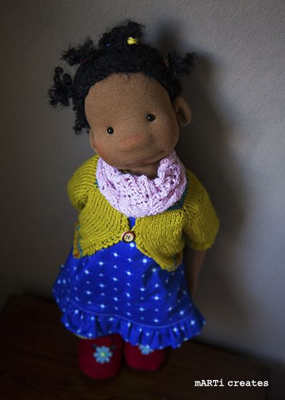 Nailah - 21'' Art Doll by mARTi creates