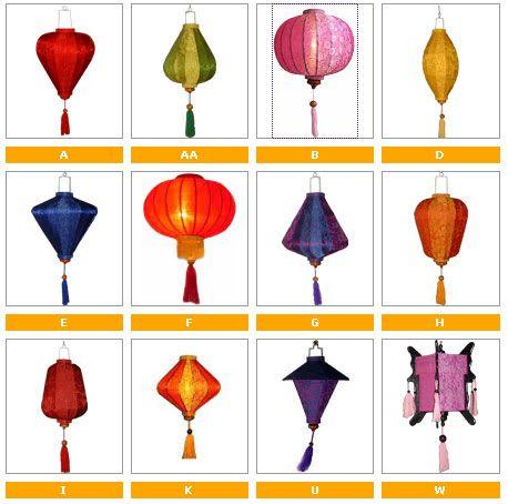 16 best vietnamese decorations images on pinterest wedding decor set of 12 vietnamese hoi an silk lanterns wall wedding party decor home garden junglespirit Gallery