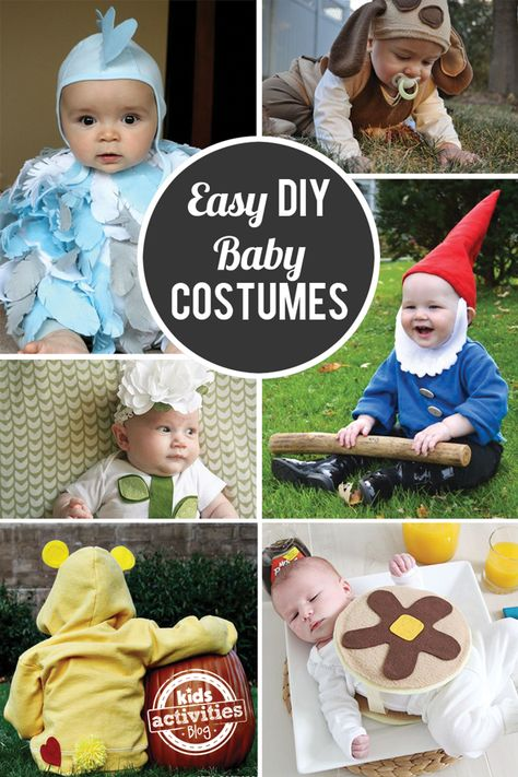 Easy Homemade Halloween Costumes for Baby