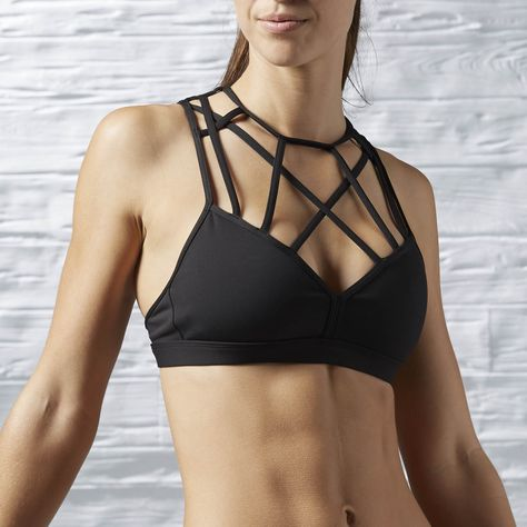173e897f9c Shop for Reebok Dance Strappy Bra - Black at reebok.com. See all the styles  and colors of Reebok Dance Strappy Bra - Black at the official Reebok US  online ...