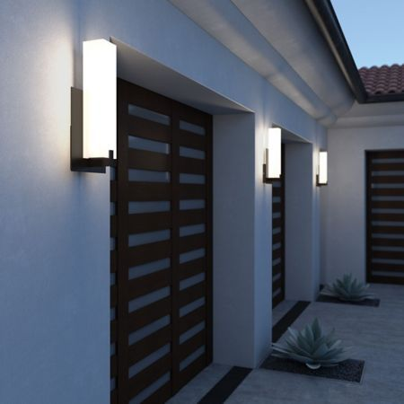 Cosmo Led Outdoor Wall Light In 2019 Led Outdoor Wall