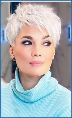 Kurzhaarfrisuren Asymmetrisch Mit Undercut In 2020 Kurzhaarschnitt Fur Feines Haar Kurzhaarschnitt Damen Kurzhaarschnitt