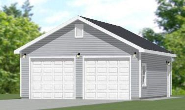 24x30 2 Car Garage 720 Sq Ft Pdf Floor Plan Auburn Alabama General Misc For Sale Classified Ads Fr Garage Plans Garage House Plans House Plan With Loft