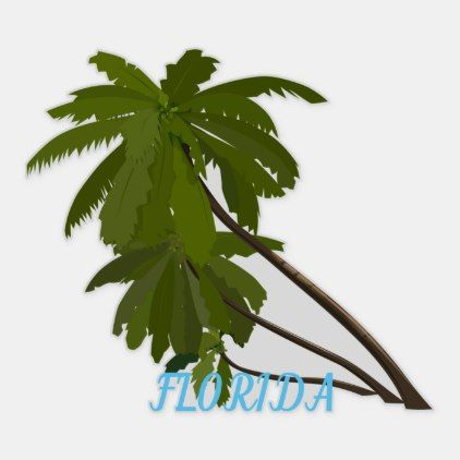 Florida Palm Trees Tropical Beach Travel Weddings Sticker Palm Tree Clip Art Palm Tree Png Palm Tree Background