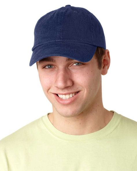 c344bd4105a adams ace vat-dyed twill visor - royal (one)