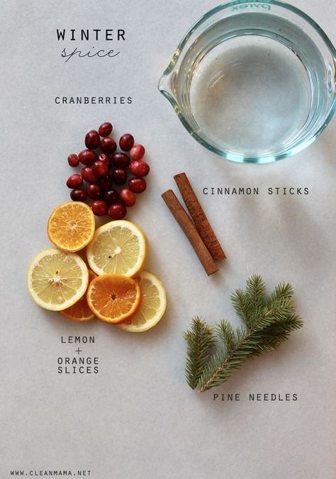 Smells just like Christmas! I love simmering this on the stove for the perfect winter scent. Homemade Potpourri, Simmering Potpourri, Stove Top Potpourri, Potpourri Recipes, All Things Christmas, Christmas Holidays, Christmas Crafts, Christmas Decorations, Christmas Scents