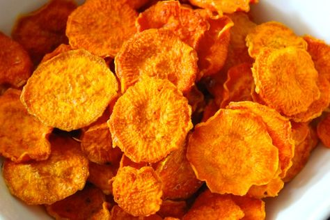 Amazing Organic Sweet Potato Chips Recipe