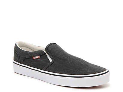 Vans Asher Slip-On Sneaker - Men's in