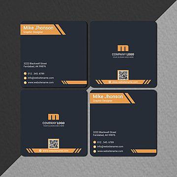 Amazing Creative Square Business Card Design Square Business Cards Design Square Business Card Business Card Design