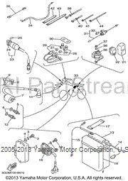 Save 20% on 1999 Yamaha WARRIOR OEM Electrical 1 Parts