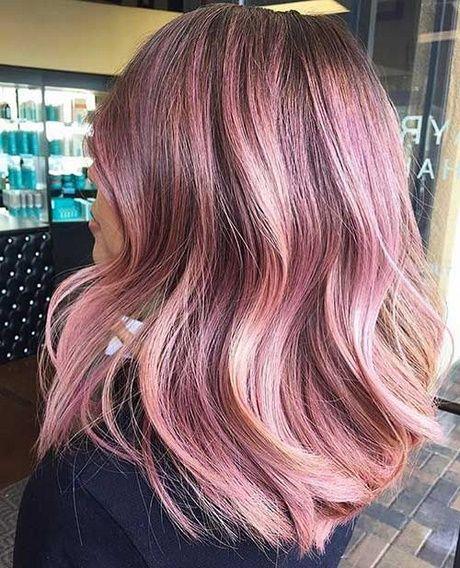 Haarfarbe 2018 Frauen Haarfarben Rosa Haare Rosa Kurze