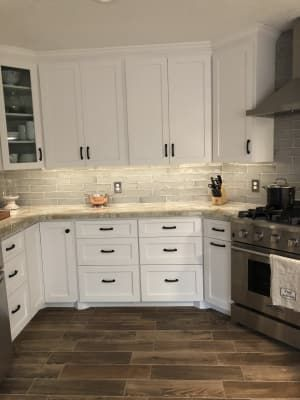 Castle Hazy Trail 3x12 Ceramic Tile Gray Tile Backsplash Home
