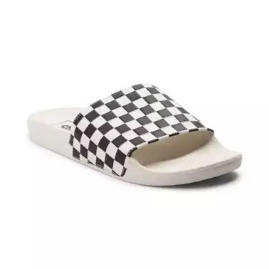 Elevate your summer style with the new Slide On Chex Sandal