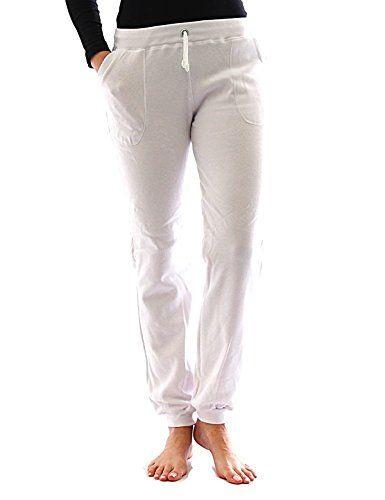 Pantaloni Tuta interno in pile Borse Sport Leggings Cotone Yoga Relax Termo