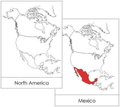 North America Flashcards North America Map America Map North America