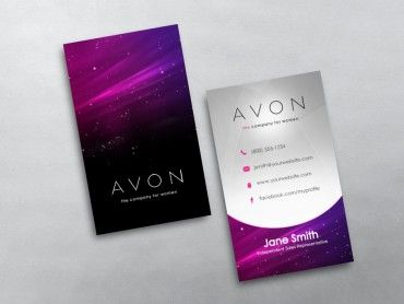 Avon Business Cards Free Shipping Free Business Cards Business Cards Avon Business
