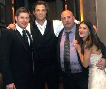 Jensen Ackles And Jared Padalecki S Wedding Photo 34404645 Supernatural Addict Pinterest