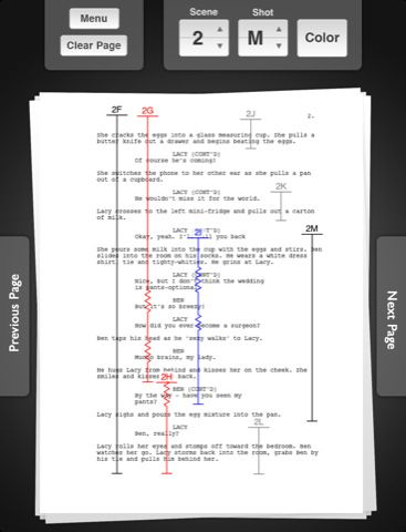 Script Breakdown u2013 Breaking Down a Script into 8ths u2013 StudioBinder - screenplay template