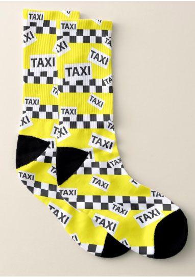 Taxi Driver socks