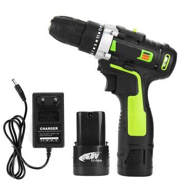 16 8v Rechargeable Electric Cordless Hand Drill Power Drilling Tools Lithium Screwdrivers Drilling Tools Drill Set Drill
