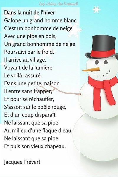 Chanson Pour Les Enfants L Hiver Jacques Prevert En Musique Prevert Jacques Poeme Hiver Comptines Paroles