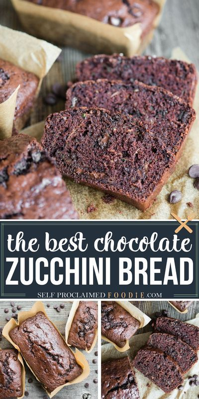Perfect Chocolate Zucchini Bread In 2020 Chocolate Zucchini Bread Zucchini Bread Recipes Banana Bread French Toast