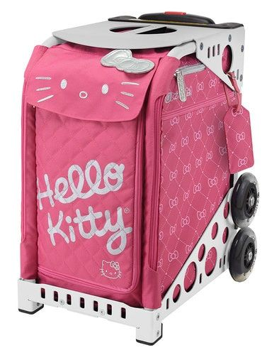 0bf4f4d0f Zuca Sport Bag - Hello Kitty, Pink Luxe | Professional Case for Stenograph  | Bags, Rolling bag, Rolling backpack