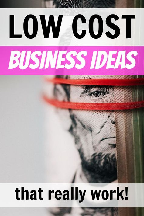 6 Low Startup Cost Business Ideas from Side Hustle Nation