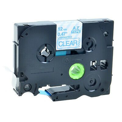 Sponsored Ebay Blue On Clear Laminated Label For Brother P Touch Pt 2030 Tze 133 Tz 133 12mm Labeling Maker Label Maker Tape White Label