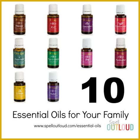 10 Essential Oils for your family