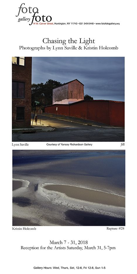 Fotofoto Gallery Opens Chasing The Light Exhibition March 5 Gallery Lighting Light