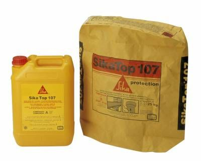 Sikatop 107 Protection Micro Mortier D Etancheite Sika Sika 99 32 Mortier Produits Etancheite
