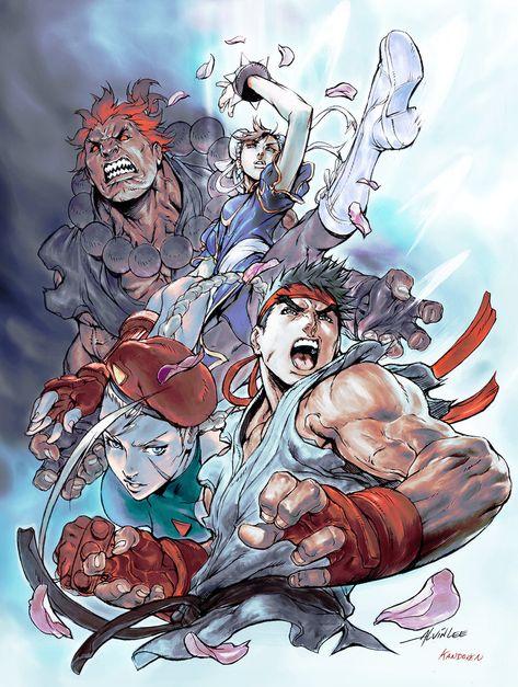 Imagine FX - Street Fighter Cover by Kandoken.deviantart.com on @deviantART