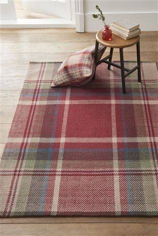 Morcott Check Rug With Images Rugs