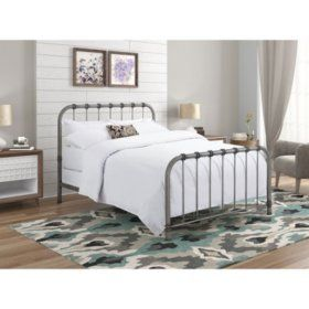 Reznor Metal Queen Bed Sam S Club Queen Bed Frame Bed Frame