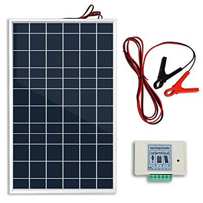 Details About Eco Worthy 10w Pv Polycrystalline Solar Panel System Kit W 3a Charge Controller Solar Panel System Solar Kit Solar Battery Charger