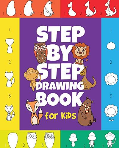 Download Pdf The Stepbystep Drawing Book For Kids A Childrens Beginners Book On Howtodraw Animals Cart Drawing Books For Kids Drawing For Kids Beginner Books