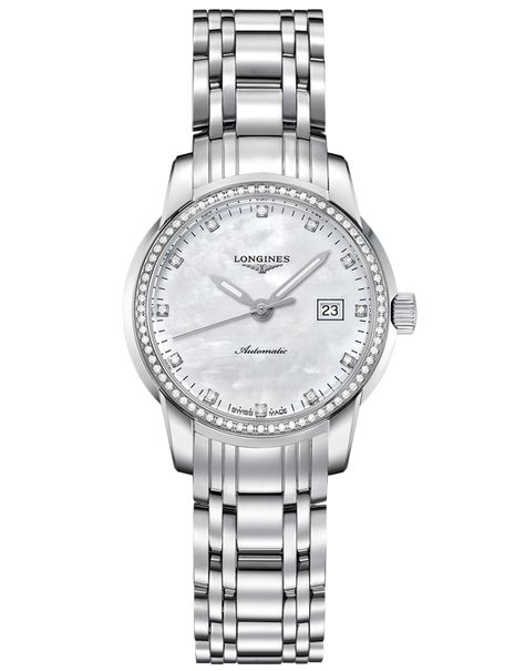 Longines Saint-Imier - Ladies Mother of Pearl Automatic Watch - L2.563.0.87.6