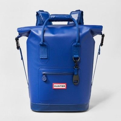 Find Product Information Ratings And Reviews For Hunter For Target Cooler Backpack Blue Online On Target Com Blue Backpack Cool Backpacks Evening Clutch Bag
