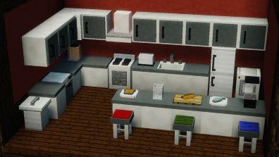 Better Minecraft Chat Mod 1102194  Minecraft Mods 1102 Fascinating Minecraft Modern Kitchen Designs Decorating Inspiration