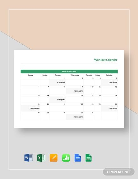 Workout Program Sheet Template Free Pdf Google Docs Word Apple Pages Template Net Workout Programs Template Word Cookbook Template